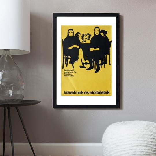 Szerelmek és előítéletek filmplakát