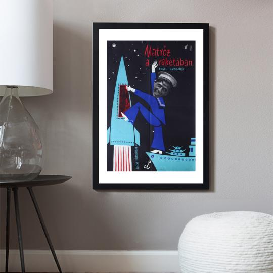 Matróz a rakétában  filmplakát