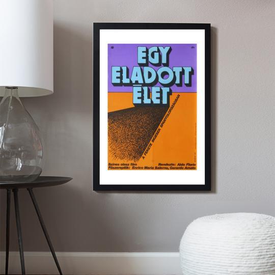 Egy eladott élet filmplakát