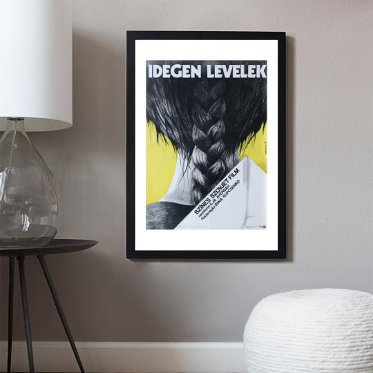 Idegen levelek  filmplakát
