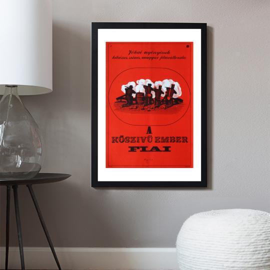 A kőszívű ember fiai filmplakát