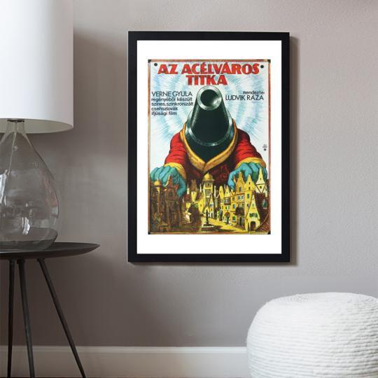 Az acélváros titka filmplakát