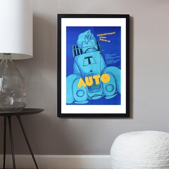 Autó filmplakát