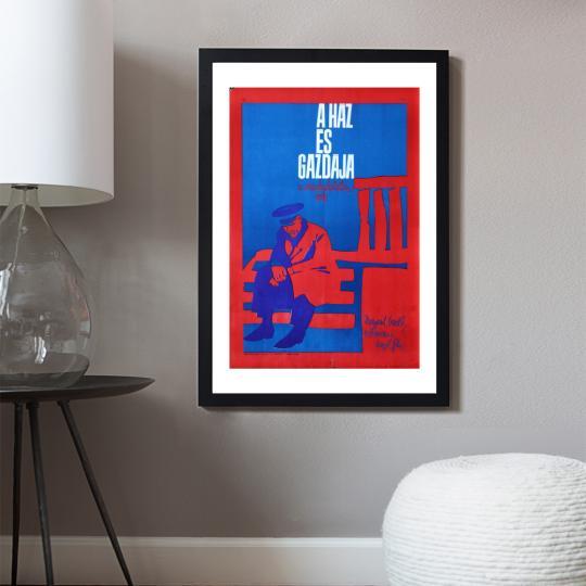 A ház és gazdája filmplakát