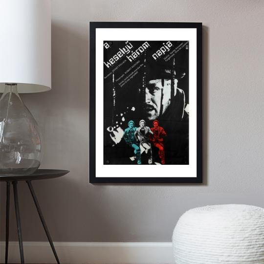 A keselyű három napja filmplakát