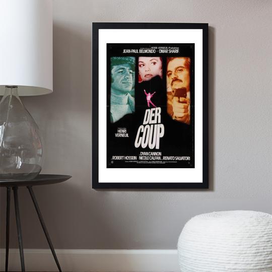 A betörés filmplakát