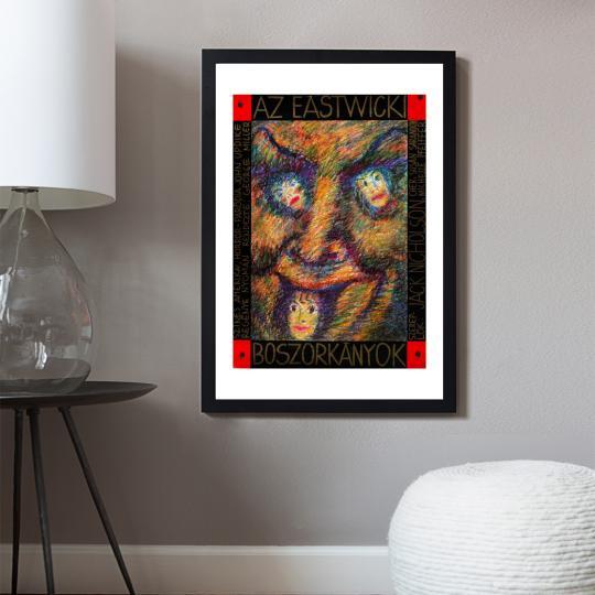 Az Eastwicki boszorkányok filmplakát