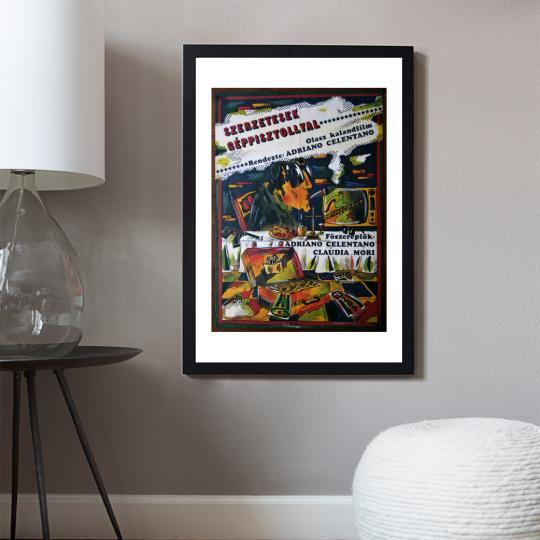 Szerzetesek géppisztollyal filmplakát