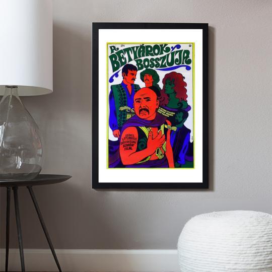 A betyárok bosszúja filmplakát