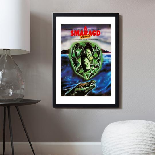A smaragd románca filmplakát