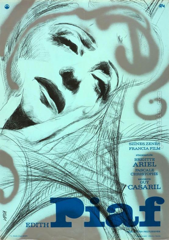 Edit Piaf filmplakát