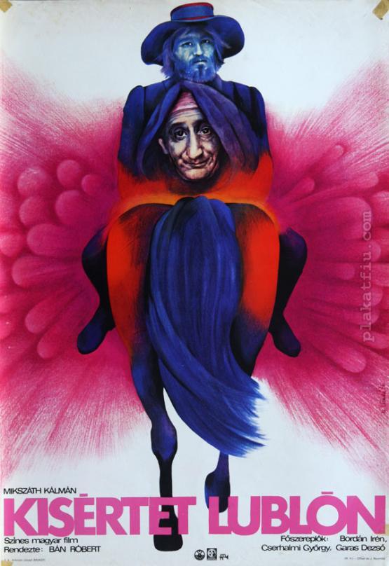 Kísértet Lublón filmplakát
