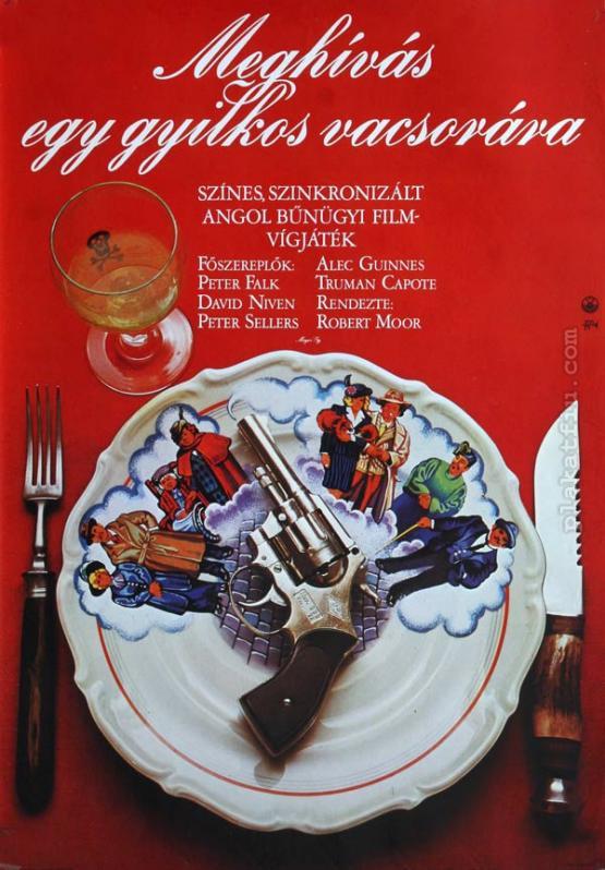 Meghívás egy gyilkos vacsorára  filmplakát