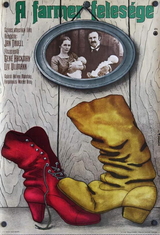 A Farmer felesége filmplakát