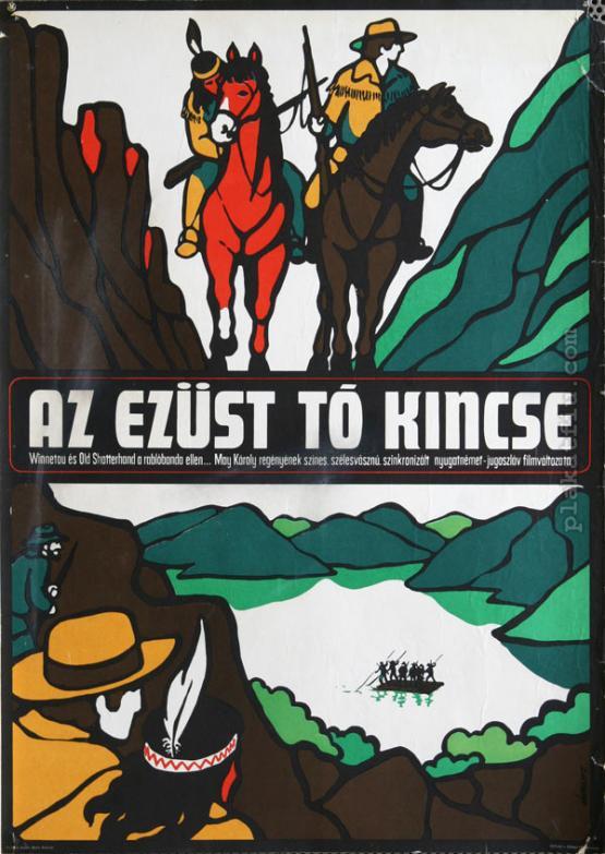 Az Ezüst-tó kincse filmplakát