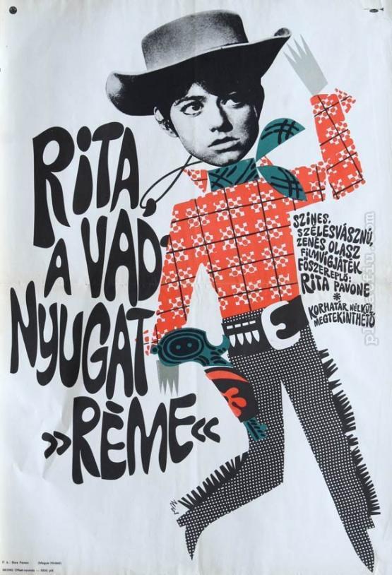 Rita, a vadnyugat réme filmplakát