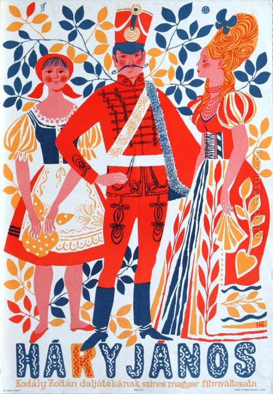 Háry János filmplakát