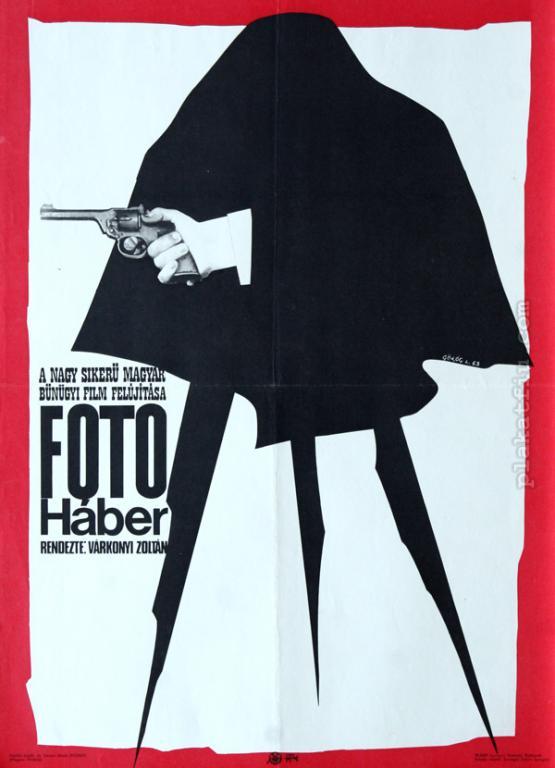 Fotó Háber filmplakát
