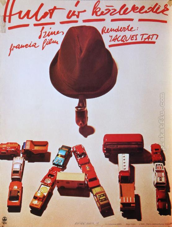 Hulot úr közlekedik filmplakát