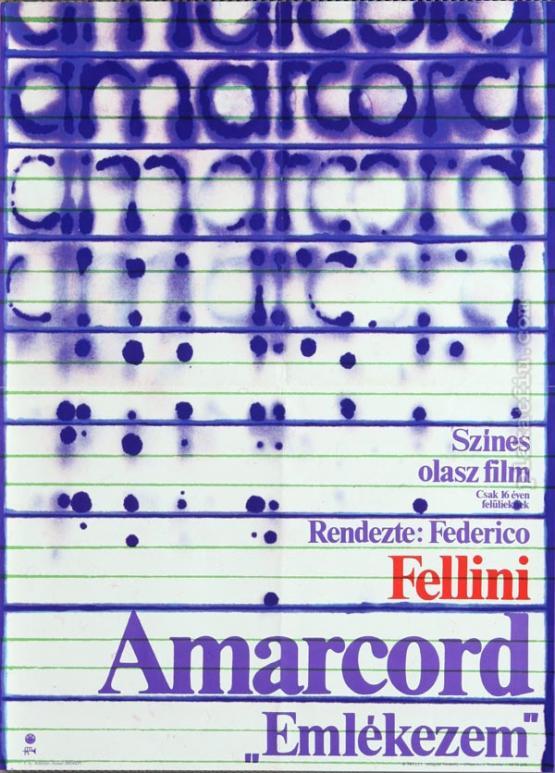 Amarcord filmplakát