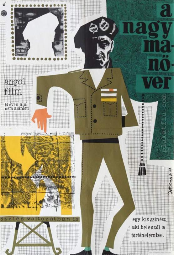 A nagy manőver  filmplakát
