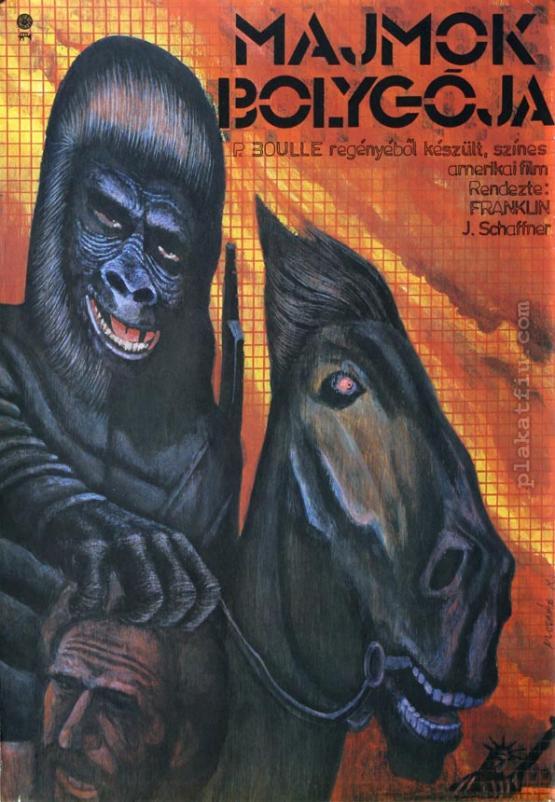 Majmok bolygója filmplakát