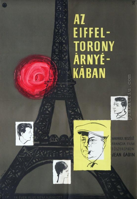 Az Eiffel torony árnyékában  filmplakát