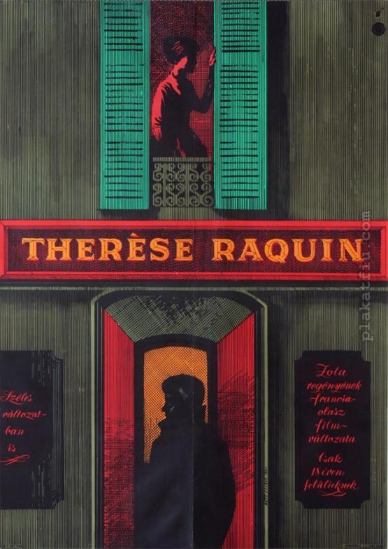 Thérèse Raquin filmplakát
