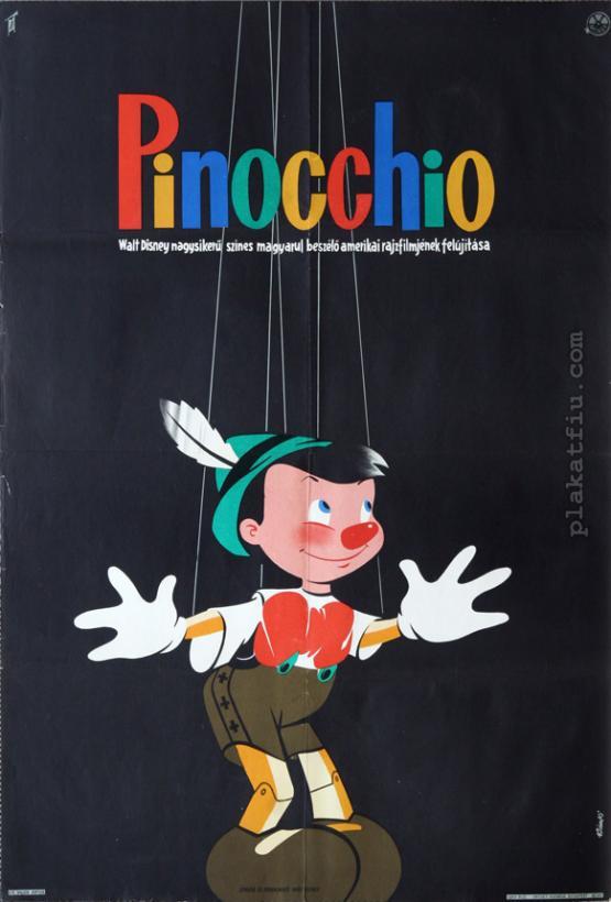 Pinocchio filmplakát