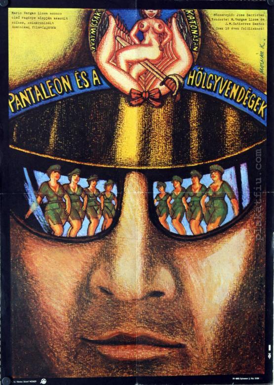 Pantaleon és a hölgyvendégek filmplakát