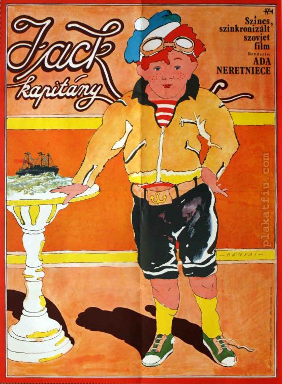 Jack kapitány filmplakát