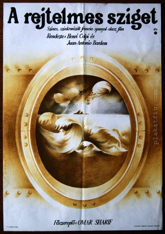 Rejtelmes sziget filmplakát
