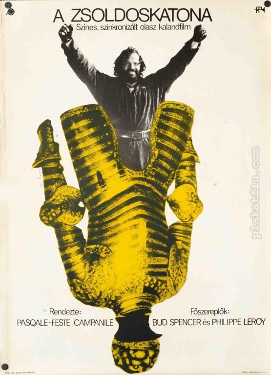 A zsoldoskatona filmplakát