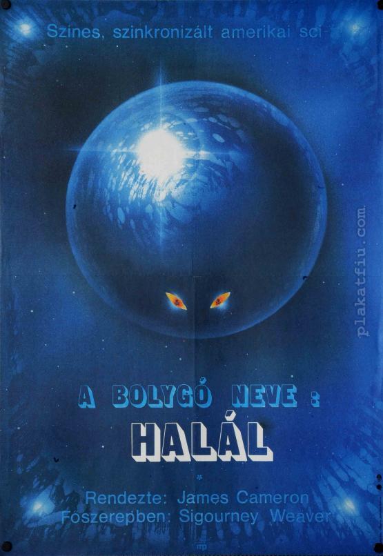 A bolygó neve: Halál filmplakát