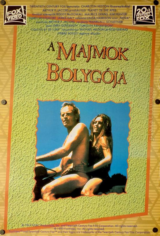 A majmok bolygója movie poster