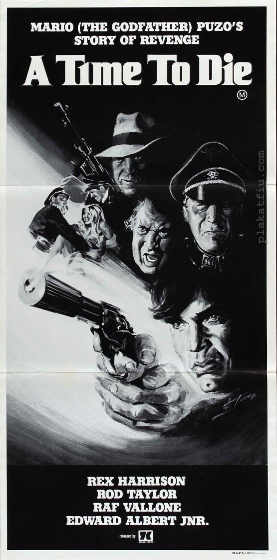 A halál ideje filmplakát