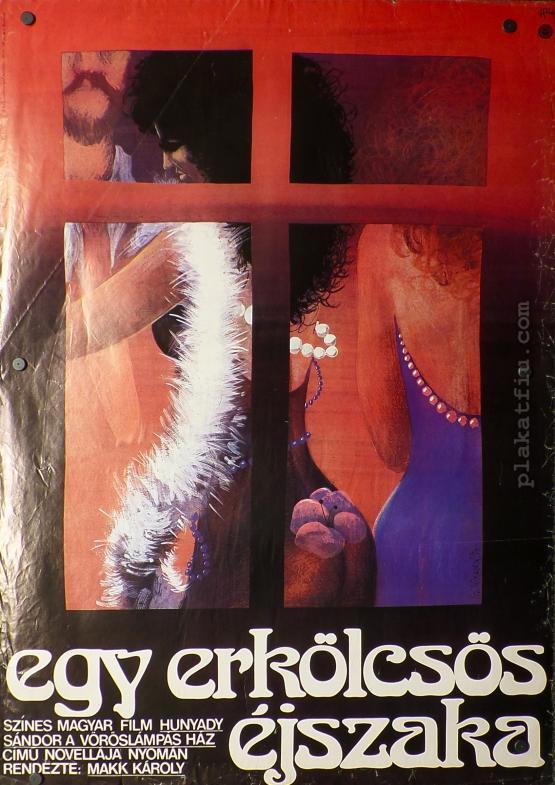 Egy erkölcsös éjszaka filmplakát