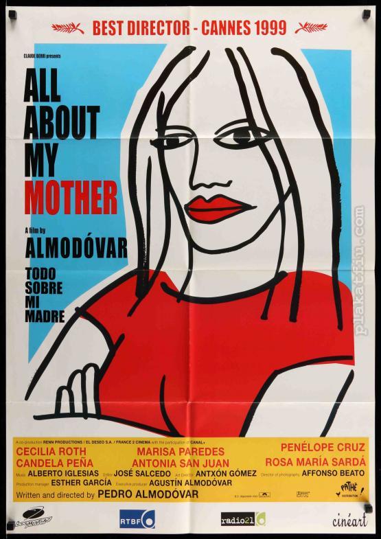 Mindent anyámról filmplakát