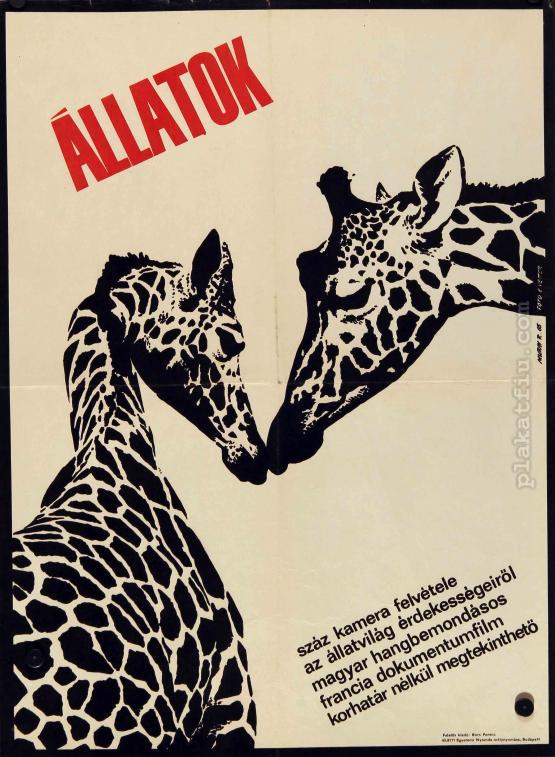 Állatok filmplakát
