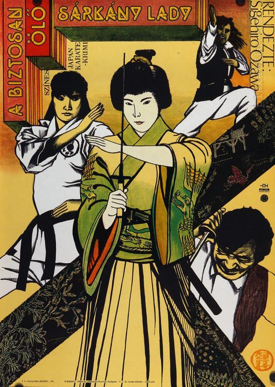 A biztosan ölő sárkány lady filmplakát