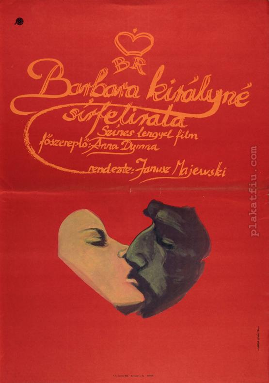 Barbara királyné sírfelirata filmplakát