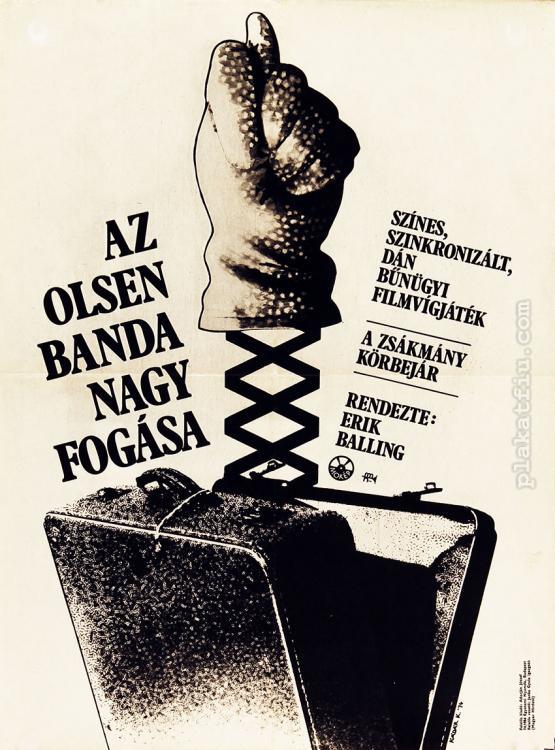 Az Olsen banda nagy fogása filmplakát