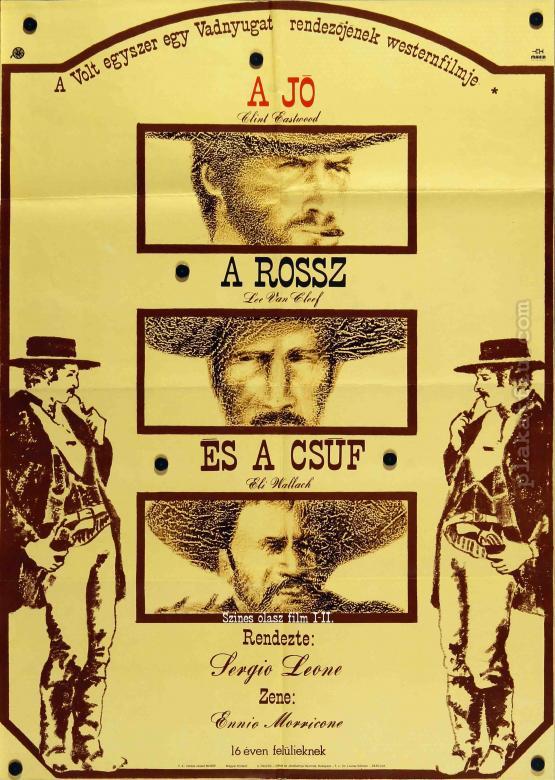 A Jó, a Rossz és a Csúf  filmplakát