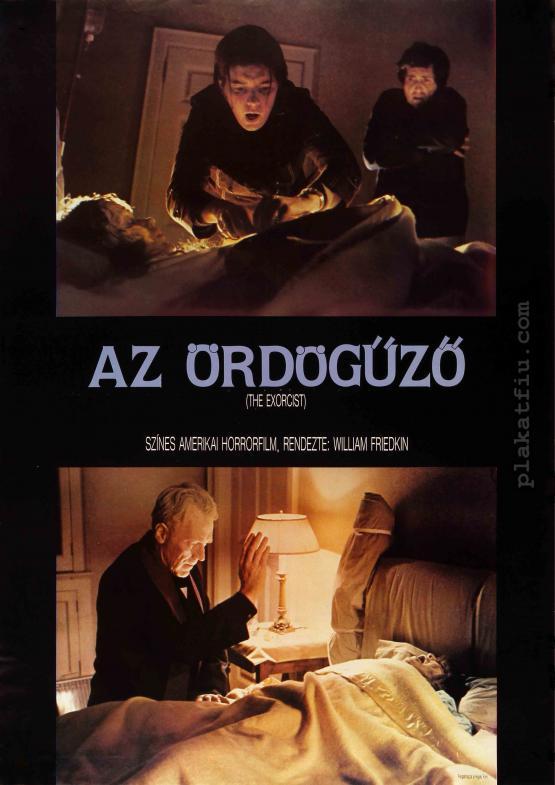 Az ördögűző filmplakát
