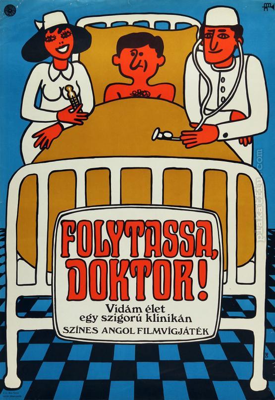 Folytassa, doktor! filmplakát