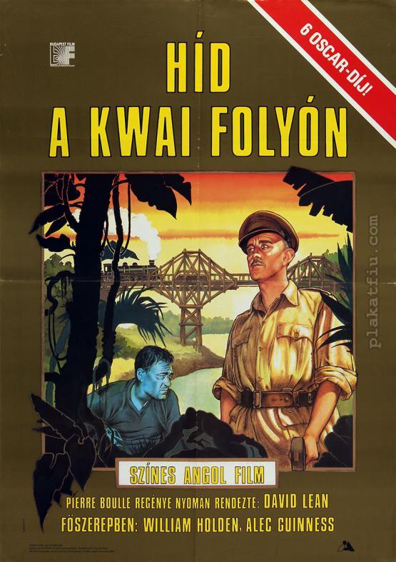 Híd a Kwai folyón filmplakát