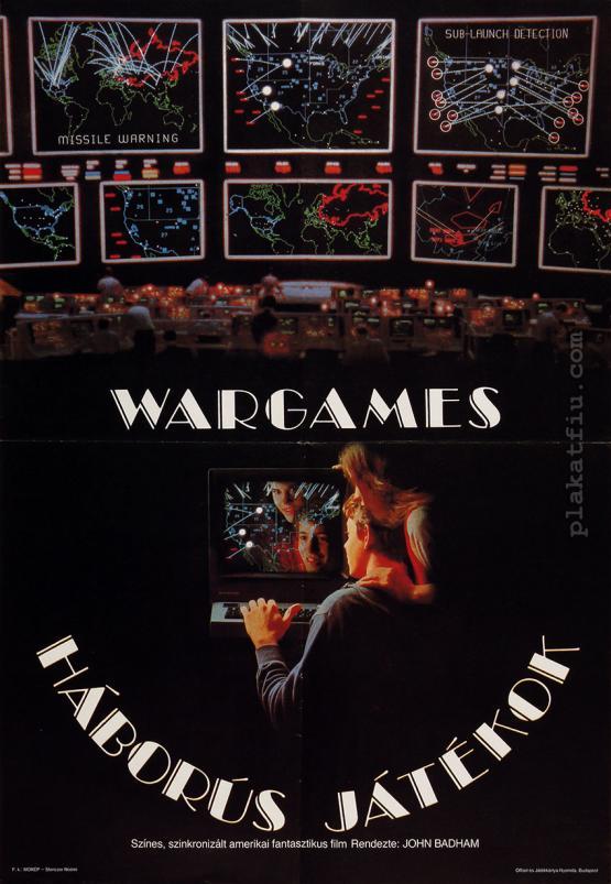 Háborús játékok filmplakát