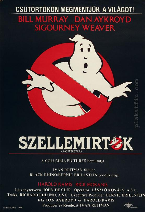 Szellemírtók filmplakát
