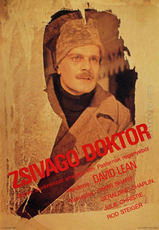 Zsivagó doktor filmplakát