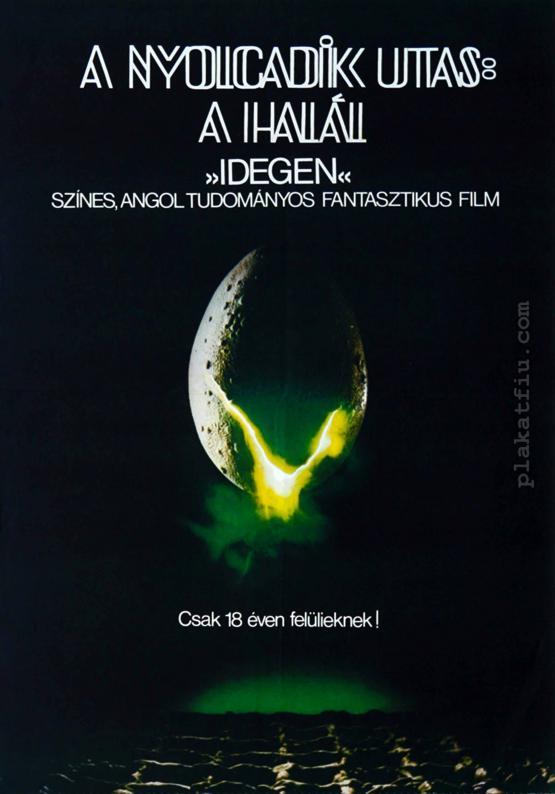 A nyolcadik utas: a Halál  filmplakát